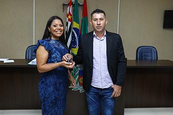Entrega das chaves da Câmara Municipal de Mirassolândia/SP