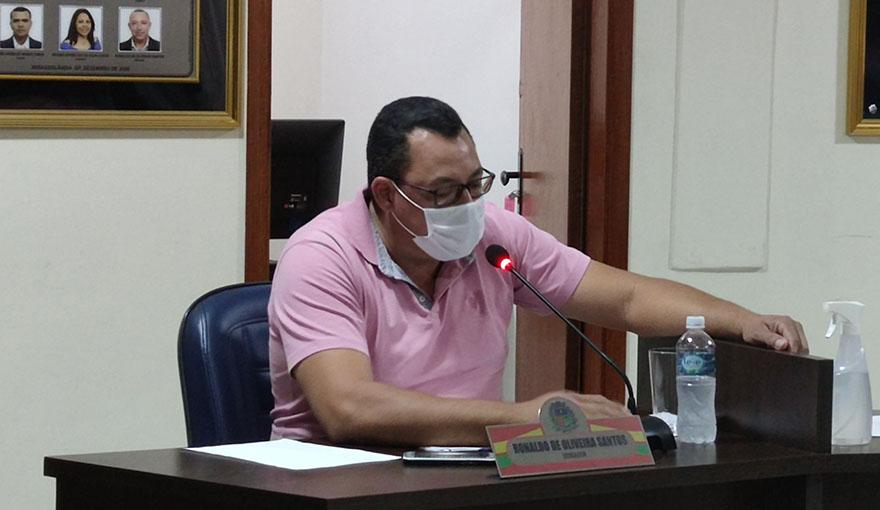 Req. Salários dos funcionários municipais – Ver. Ronaldo Jonhy